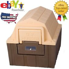 New listing Brown - Asl Insulated Dp Hunter Dog House Indoor Outdoor For Small Dog Cat Pet