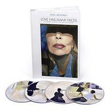 JONI MITCHELL - LOVE HAS MANY FACES:A QUARTET,A BALLET,WAITING... 4 CD NEU