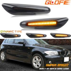 LED Seitenblinker für BMW 1er   E81, E82, E87, E88   SCHWARZ