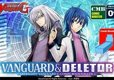 Cardfight Vanguard G Vanguard and Deletor Comic Booster Box English Bushiroad