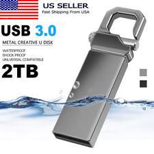 2Tb Usb 3.0 U Disk Flash Drives Memory Metal Flash Drive Pen Thumb For Pc Laptop