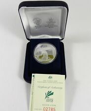 2000 PARALYMPIC BASKETBALL Silver Proof Coin