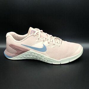 Nike  Metcon 4 Particle Beige Women's Training 924593-240 Shoes Size 8 EUC