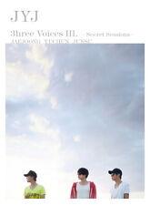 JYJ 3hree Voices III Secret Sessions POSTER+2DVD (Jaejoong, Yuchun, Junsu, TVXQ)