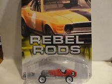 Hot Wheels Auto Affinity Rebel Rods Red '27 Miller w/Real Riders