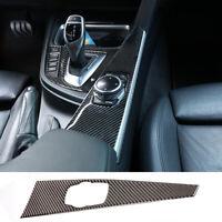Carbon Fiber  Center Console Interior  Trim Cover For BMW 3 4 Series F30 F33