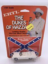 Vintage 1:64 Ertl Dukes Of Hazzard Boss Hogg's Cadillac CARDED BLISTER! CLEAN!