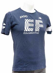 Rapha EF Pro Team Sponsor Short Sleeve T-Shirt Men XS Blue Cannondale Road Bike