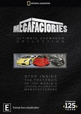 National Geographic Megafactories The Ultimate Showroom Collection Region 4