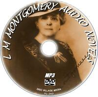 8 GREAT L M MONTGOMERY AUDIOBOOK CLASSICS ON MP3 DVD ANNE SHIRLEY NOVELS NEW