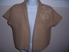 Cabi Sweater/bolero/shrug Ladies, woman's #294 Spring 09' NWT  XS Tan