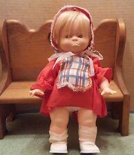 """Vintage 1971 Lorrie Plastic Vinyl blonde Hair Girl Character Doll 12"""""""
