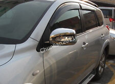 Chrome Side Mirror Cover Trim for 2006-2011 Toyota RAV4 Mirrors