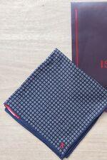 Isaia Luxury Mens Silk Pocket Square New $115