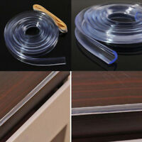 Baby Safety Desk Table Edge Corner Protector Cushion Guard Strip Soft Bumper DS