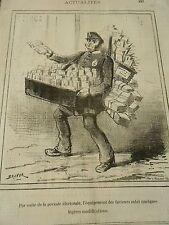 Typo 1877 - L'équipement des facteurs subit quelques modifications
