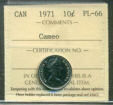1972 Canada 10 Cent ICCS PL-66