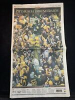 2009 Pittsburgh Tribune-Review Pittsburgh Steelers Super Bowl XLIII Newspaper