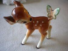 "Walt Disneys Bambi 5 1/2"" Ceramic RARE Japan Figurine Vivid Colors exel.cond.t-0"