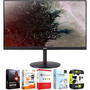 "Acer Nitro XV272U Vbmiiprx 27"" WQHD 16:9 Gaming Monitor with Warranty Bundle"