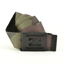 Billabong Uomo offre stampa Cinghia Morsetto Cintura-aw16: Mimetico