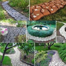 DecorationPR - Path Maker Mold Home Garden Reusable Concrete Cement