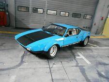De Tomaso Pantera Ford GT4 V8 5.4 blau blue black schwarz Street Kyosho NEU 1:18