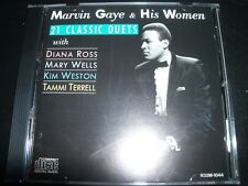 Marvin Gaye & His Women : 21 Classic Duets (Japan) CD – Like New