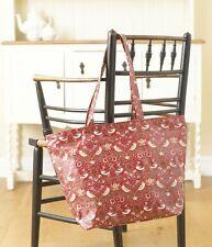 William Morris Rojo Fresa ladrón Mango Largo Zip Tote Bag
