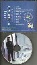 JESSE McCARTNEY Departure LIMITED EDITION PICTURE DISC ADVNCE PROMO CD 2008 USA
