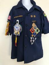 Vintage Webelos Shirt Badges & Pinbacks ~ 1989-92 ~ Size 10 ~ Boy Scouts