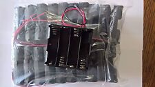 4xAA battery holder with wires x20