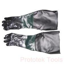 guanti per cabina sabbiatrice da 90 litri diametro 180mm lunghezza 480mm