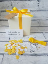 Will you be my Godmother, pop the balloon, christening , personalised gift