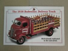 Danbury Mint Brochure 1938 Budweiser Delivery Truck
