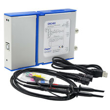 OSC482 PC USB Virtual Digital Oscilloscop +Spectrum Analyzer+Data Recorder