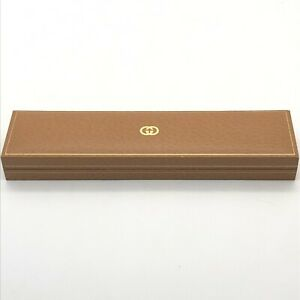 Vintage Gucci Genuine Watch box case Color Light brown No outer box B0628013