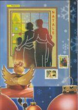 3062 - 63  Weihnachten   Folder der italienischen Post  2005