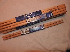 BNIP FOUR PAIRS X4 Vater Michael White's Pocket Monster VHMWHTW NEW 8 DRUMSTICKS