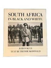 South Africa in Black and White Paperback Med Format by Trevor McDonald