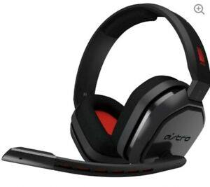 Astro A10 Grey/black Red Headset for/ ps4/ xbox one/pc/mac/mobile...New Rrp £60