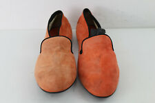 TOD'S Orange Loafers size Eu 38