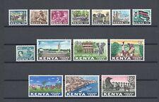 More details for kenya 1963 sg 1/14 mnh cat £21