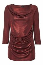 Roman Originals Polyester Fitted Tops & Shirts for Women