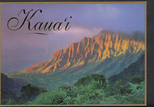 America Postcard - Kalalau Valley, Ka'a'alahina Ridge, Kaua'i's Kalalau  B2799