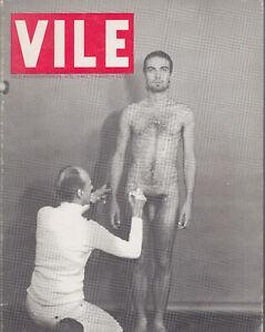 Vile International vol.3 n.2 summer 1977 Anna Banana 1977 molte illustrazioni