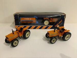 Lot tracteurs Fiat Forma Plast Yaxon trattore tractor traktor britains dugu