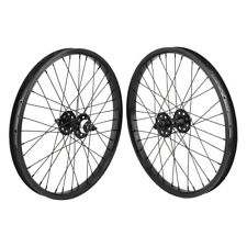 "20x1.75"" SE Racing Sealed Bearing Wheelset BMX BLACK"