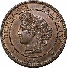 O283 Rare 10 Centimes Cérès 1874 A Paris SPLENDIDE > Faire offre