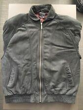 Vintage Adidas Suede Leather Jacket XL